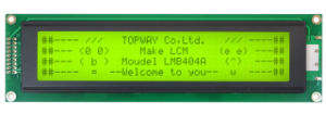 40X4 Character LCD Module Alphanumeric COB Type LCD Display (LMB404A) pictures & photos