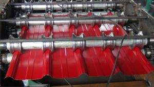 Roof Panel Steel Roll Forming Machine pictures & photos