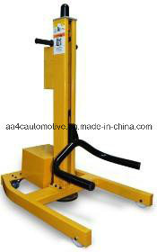 Mechanical Mobile Single Post Lift pictures & photos