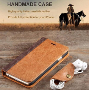2017 Online PU Leather Phone Case Store Leather Flip for iPhone Cases pictures & photos
