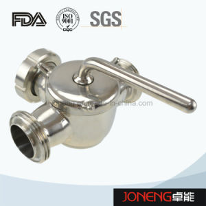 Stainless Steel Sanitary 3 Way Plug Valve with Bsm Union pictures & photos