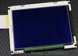 192X128 Graphic LCD Display Cog Type LCD Module (LM1095R) pictures & photos