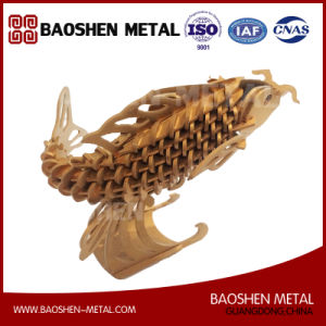 Precisely Laser Cutting Fish Metal Art Office/Gift /Home Decoration Sculpture From Manufacturer pictures & photos