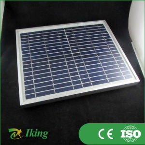 Small Solar Panel 10W 18V for 12V Battery Charging