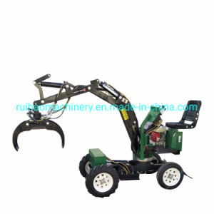 Mini Digger Loader Trencher Tractor for Agricultural Machine