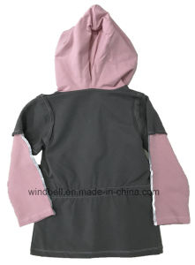 Beautiful Hoody for Girl with Elastic in Waist pictures & photos