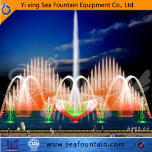 Changeable Interactive Music Fountain with Water Screen Movie pictures & photos