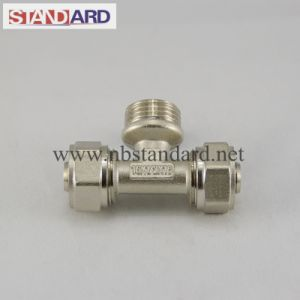 Compression Brass Male Connector pictures & photos