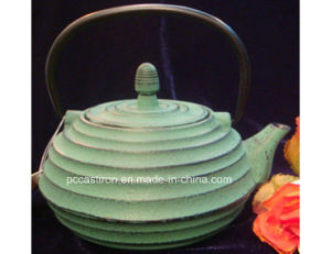 Cusomize Cast Iron Teapot OEM ODM Production pictures & photos