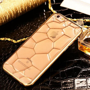 Cubic Water Pattern Electroplated Phone Case for iPhone 6 pictures & photos