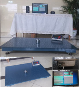 Wireless Loadmeter Electronic Floor Platform Scale 2.0m*2.0m pictures & photos