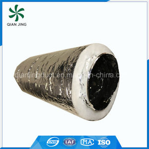 Polyester Wool Acoustic Insulated Air Duct for HVAC Systems pictures & photos