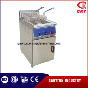 LPG Gas Deep Fryer with Cabniet (GRT-G46) pictures & photos