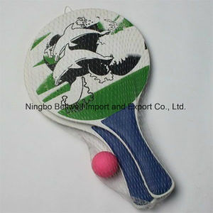 Wooden Production Beach Racket Paddles pictures & photos