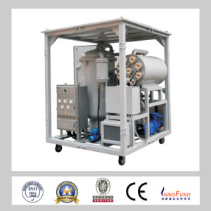 Multi-Functional Vacuum Oil Purifier for Steam Turbine Oil pictures & photos