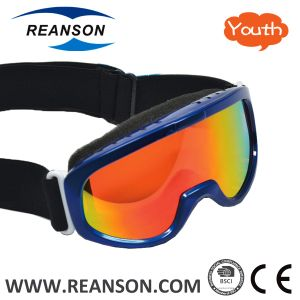 Reanson Youth Professional Snow Skiing Goggles pictures & photos