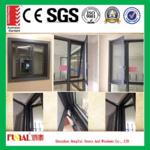 Aluminium Frame Casement Windows with Tempered Glass pictures & photos