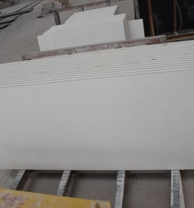 Pure White Quartz Stone Slabs Countertops Vanity Tops pictures & photos
