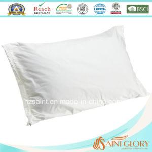 Whole Sale 100% Cotton 280tc White Pillow Protector Plain Pillow Cover pictures & photos
