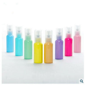 Factory Direct Plastic Bottle Pet Perfume Bottle with Pump Sprayer pictures & photos