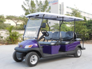 Ce Approved 6 Seater Electric Golf Cart for Tourist pictures & photos