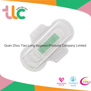 Feminine Product Ultra Thin Disposable Sanitary Pads with Wings pictures & photos