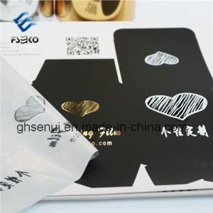Hot Sleeking Film with Silver Color for Digital Printing pictures & photos