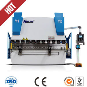 Hydraulic Plate Press Brake We67K CNC Bending Plate Steel Machine pictures & photos