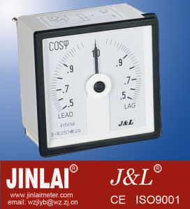 Class 1.5 Long Scale Power Factor Meter with Ce Certification pictures & photos