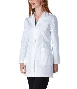 100% Cotton Customized Lab Coat with Logo Embroidery pictures & photos