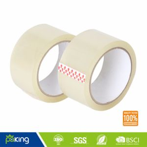 Custom Low Noise Clear BOPP Adhesive Packing Tape pictures & photos