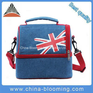 600d Polyester Insulated Shoulder Lunch Picnic Bag pictures & photos