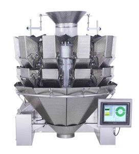 10 Heads Double Door Multihead Weigher with Touch Screen pictures & photos