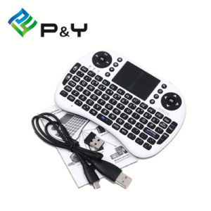 Rii I8+ 2.4G Wireless Mini Keyboard for Google Android Devices with Multi-Touch up to 15 Meters pictures & photos