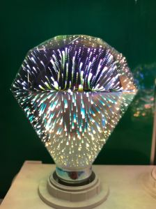 4W E27 LED 3D Light Bulb Creative Colorful Decorative Lamp Filament Fireworks Ball Light for Home Bar Cafe pictures & photos