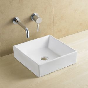 Rectangular Bathroom Porcelain/Ceramic Basin 8110 pictures & photos