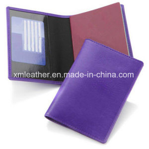 Top Quality Real Leather Document Holder Travel Passport Wallet pictures & photos
