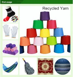 Nm10s (ne6s) Recycled Cotton Yarn for Knitting Glove pictures & photos