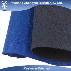 PU Coating 1k Water Pressure 300d Polyester Dobby Oxford Bag Fabric pictures & photos
