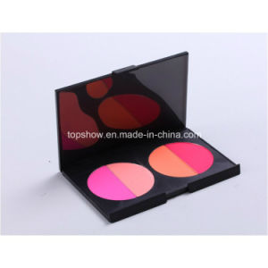 Private Label No Logo 4 Color Pressed Powder Palette Blusher Bronzer Professional Makeup Tool Blush H4