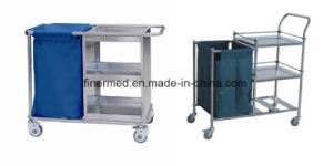 Stainless Steel Hospital Laundry Trolley pictures & photos