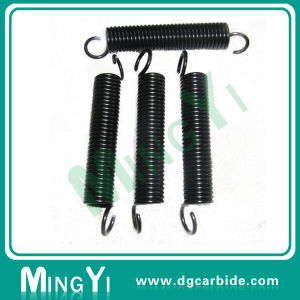 Excellent Black JIS Round Coil Hook Spring, Extension Spring pictures & photos