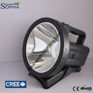 New Rechargeable 30W LED Spotlight, LED Search Light 7.4V 4400mAh Lithium 1500m pictures & photos