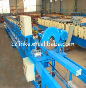 Galvanized Metal Sheet Square Downspout Pipe Roll Forming Machine pictures & photos