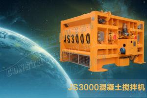 Js3000 Compulsary Twin Shaft Concrete Mixer, pictures & photos