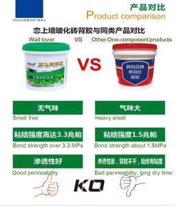 Environment Friendly Water Based Tile Adhesive Glue pictures & photos