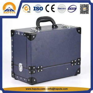 Traveling Cosmetic Blue Makeup Suitcase (HB-7002) pictures & photos