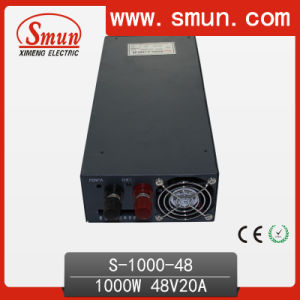 Smun S-1000-48 48V 20A 1000W DC Switching Power Supply pictures & photos