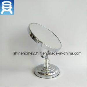 Desktop Standing Bathroom Bronze Plating Make up Mirror pictures & photos