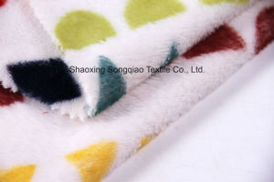 Printed Polyester Flannel/Coral Fleece Fabric - 16050-4 1# pictures & photos